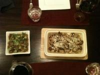 Lamsvlees en polenta