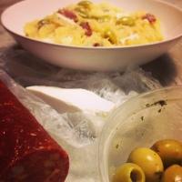 Zuurkoolstamppot met feta en chorizo