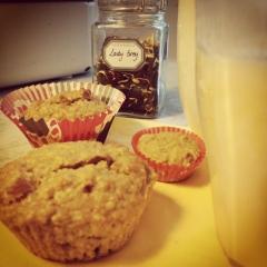 havermout muffins met karnejus
